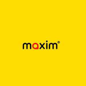 лого такси Максим, подключение к такси онлайн