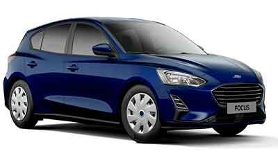 форд фокус синий